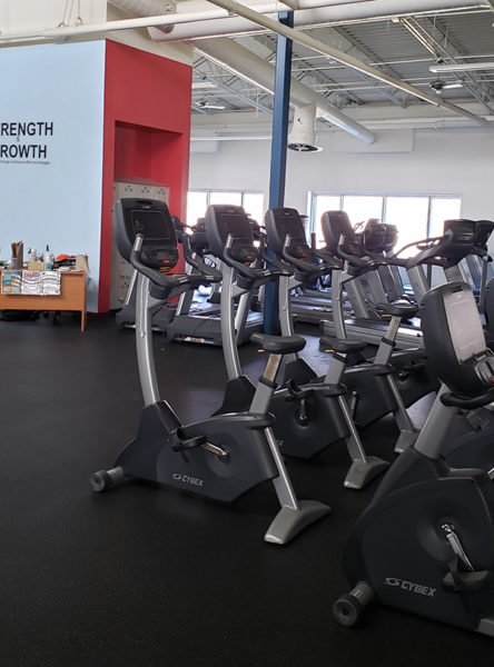 Fitness Center Deep Cleaning