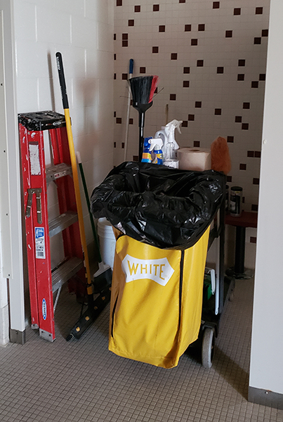 Locker Rooms - Deep Professional Cleaning On All